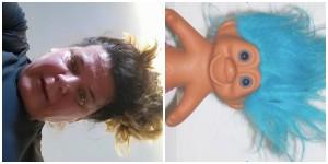 Sweat face vs Troll